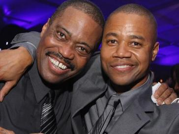 Cuba Gooding Jr and his Father