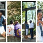 Couple Celebrates 20th Wedding Anniversary At University Campus