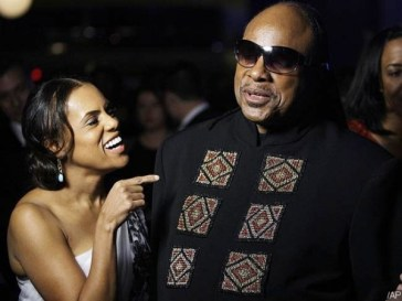 Stevie Wonder and Tomeeka Bracy