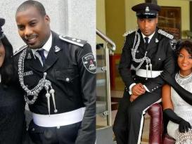policeman's adorable pre-wedding photos