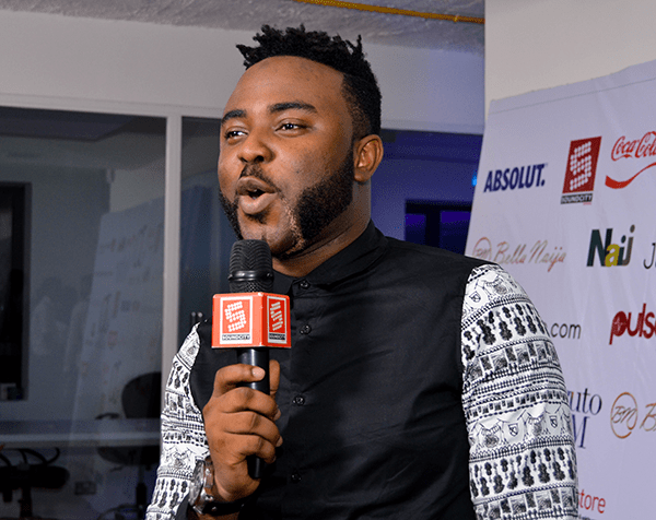 VJ Adams of SoundCity is one of the most versatile media personality in the industry having done Radio, TV, Red Carpet Hosting, Music and a little bit of Acting. (Image Credit - New of Africa)