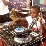 Ghana's 9-Year Old Female DJ Switch