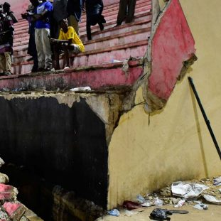 Senegal Football Stadium Stampede