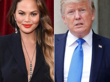 Chrissy Teigen, Donald Trump, Twitter Block