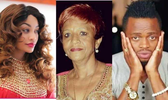 Zari, Diamond And mother