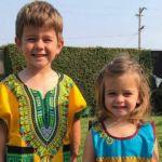 Amazing: American Children Rock Nigerian Outfits