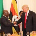 The Handshake Between Ghana's Nana Addo And America's Donald Trump Is Breathtaking
