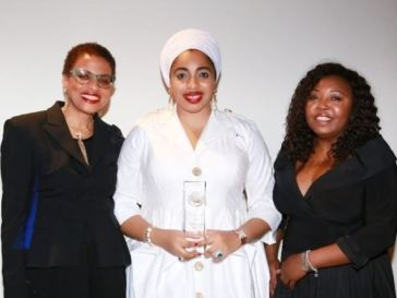 "Nigerian King Ex-Wife, Olori Wuraola Wins 'Humanitarian Of The Year"" Award At The UN"