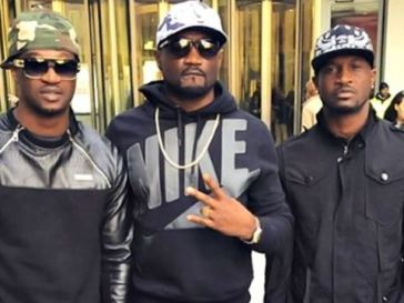 Video Shows Nigeria's PSquare Brothers Verbally Abusing Themselves And Nearly Coming To Blows At Their Lawyer's Office