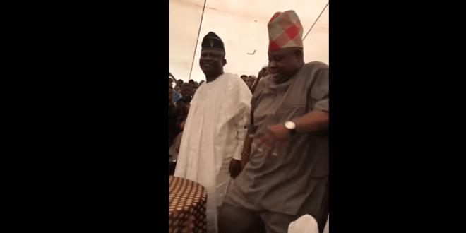 WATCH: Nigerian Dancing Senator, Ademola Adeleke, Show Off Dance Moves In Atlanta Church