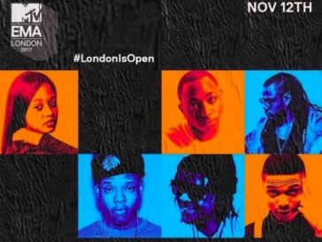 Six African Musicians Nominated For MTV Europe Music Awards