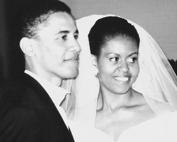 Michelle And Barack Obama Celebrate Their 25th Wedding Anniversary