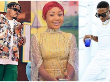 Olamide, Akuapem Poloo and Wizkid