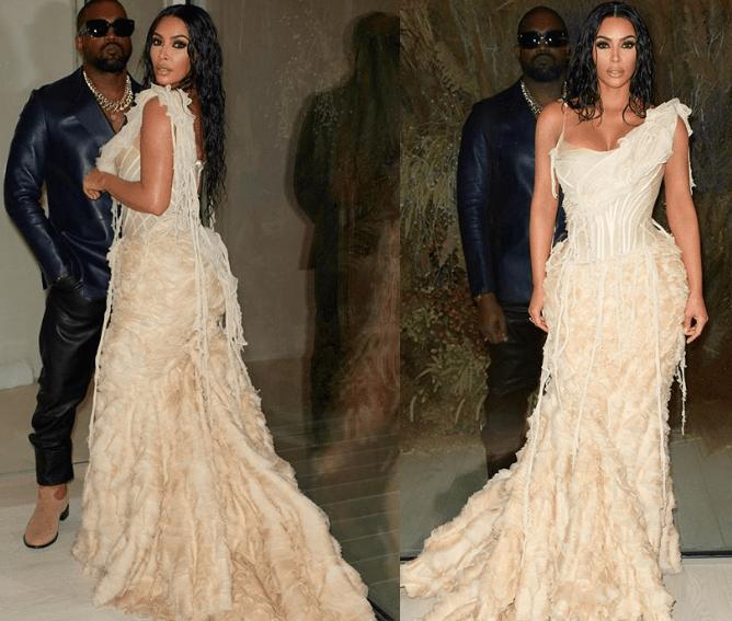 Kim Kardashian oscars outfit