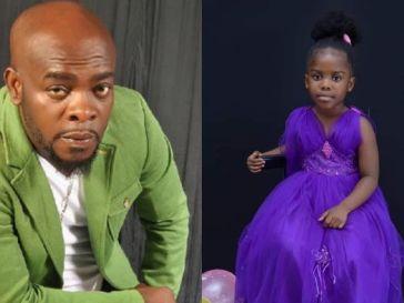 Kofi B and daughter