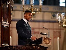 Anthony Joshua's Moving Speech At Commonwealth Day Service
