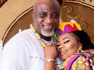 Empress Gifty and husband, Hopeson Adorye