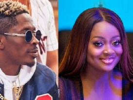 Shatta Wale and Jackie Appiah