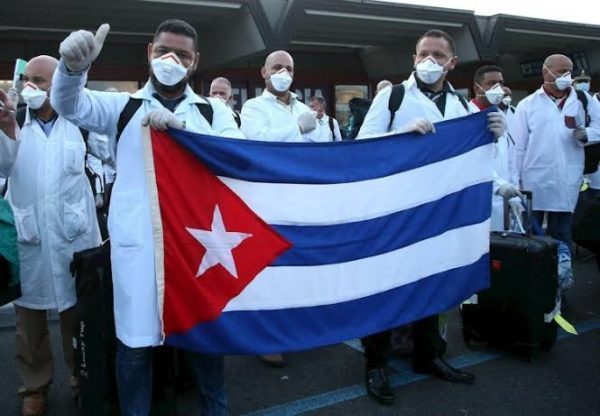 Cuban doctors arrive South Africa