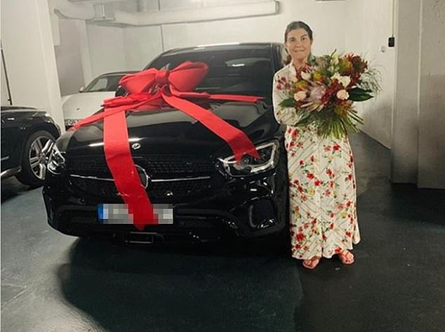 Cristiano Ronaldo buys his mother a brand new Mercedes