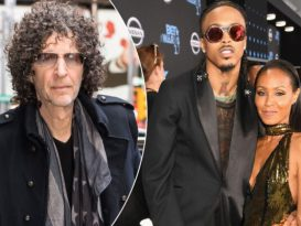 Howard Stern slams August Alsina for revealing his affair with Jada Pinkett Smith