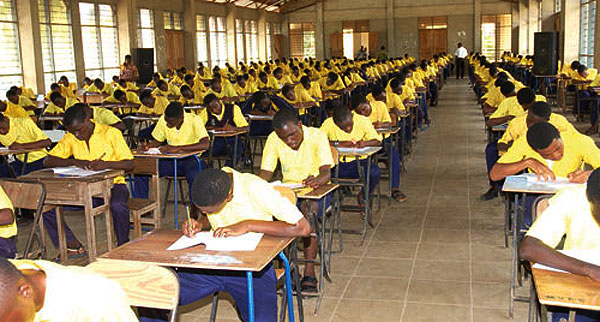 Image result for pictures of waec candidates writing exams