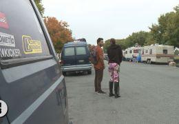 Vehicle encampment
