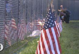 Vietnam Veterans Wall Draws Thousands