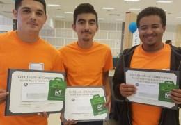 Habitat Center Graduates Student Builders