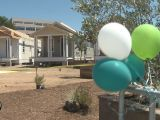 Hundreds Attend Wildfire Cottages Dedication