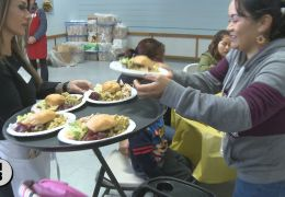 Thanksgiving Banquet Provides Comfort to Thousands