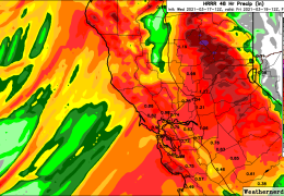 Significant rain, up to an inch, Expected with Thursday-Friday Storm