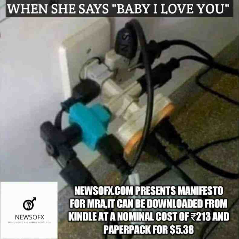 when she says baby i love you meme