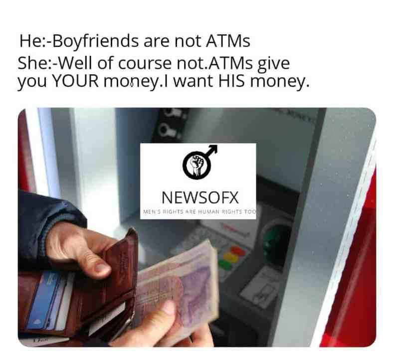 boyfriends are not atms meme