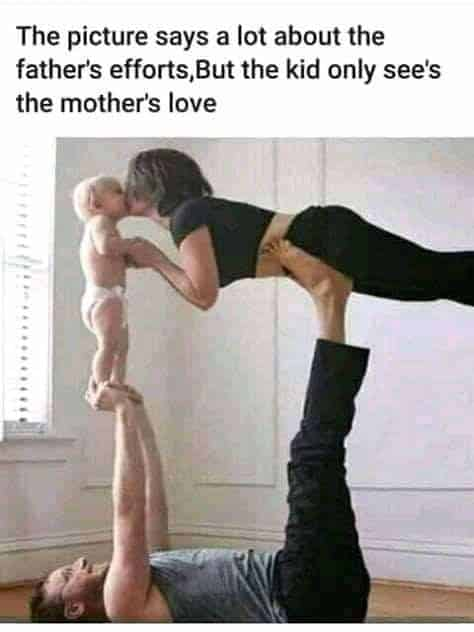 father's efforts meme