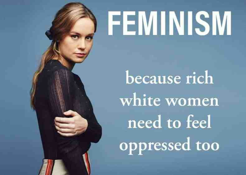 feminism because rich white women need to feel oppressed too meme