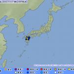 【地震速報】熊本県で震度5弱