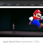 Apple発表会に任天堂が登場! iOSへ「マリオ」アプリの配信を発表!