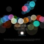Apple、発表会! もうすぐ開始!