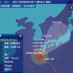 台風5号が九州へ… 気象庁「早めに安全確保し命を守る行動を」