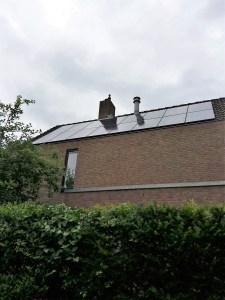 Zonnepanelen installatie