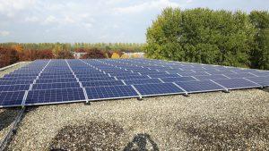 In aanbouw de grootste school-zonnecentrale van de @ProvUtrecht