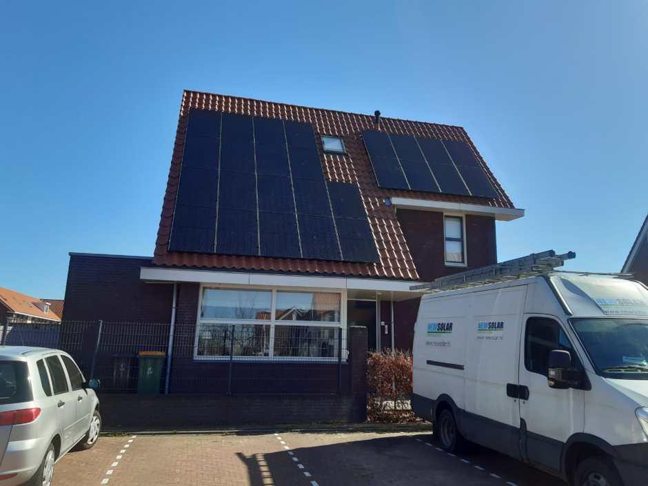 Zonne-energie installatie door NewSolar
