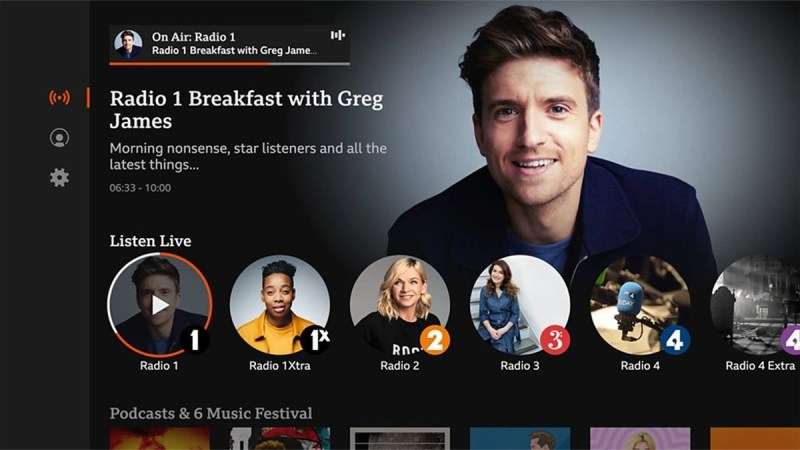 BBC Sounds Launches Connected TV App