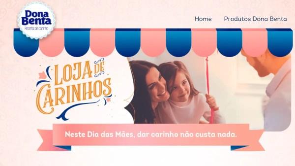 Dona Benta lança e-commerce de carinho