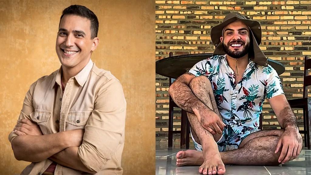 Mahmoud e Andre Marques