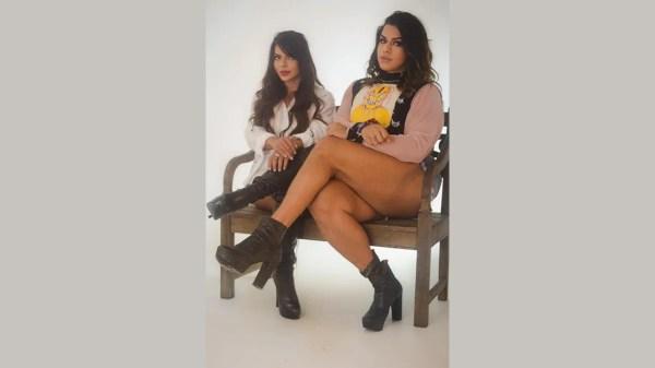 Suzy Cortez e Lady Chokey