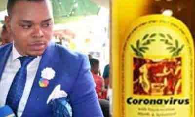 Popular Bishop Sells Coronavirus Anointing Oil For N13,000