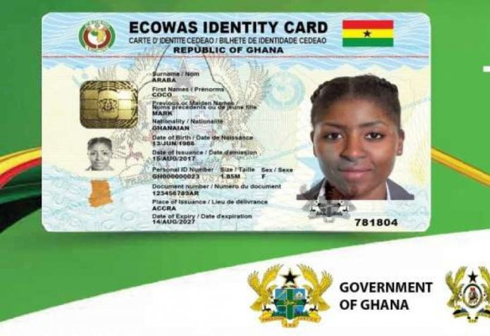 Public sector workers without the Ghana Card