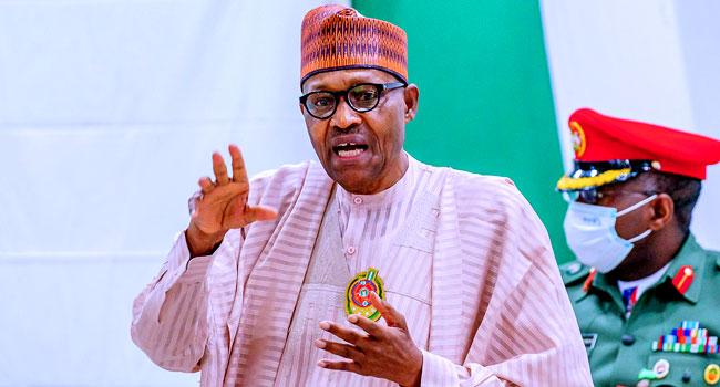 President Buhari Bursts Into Tears